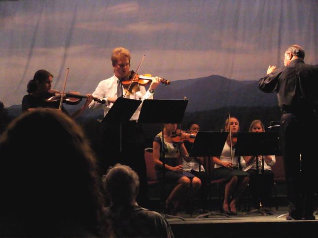 Concertino Rehearsal