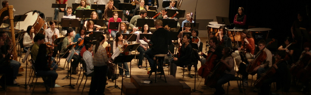 flute concerto rehearsal